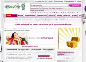Vue sur: http://www.eboons.com/code_reduction.html